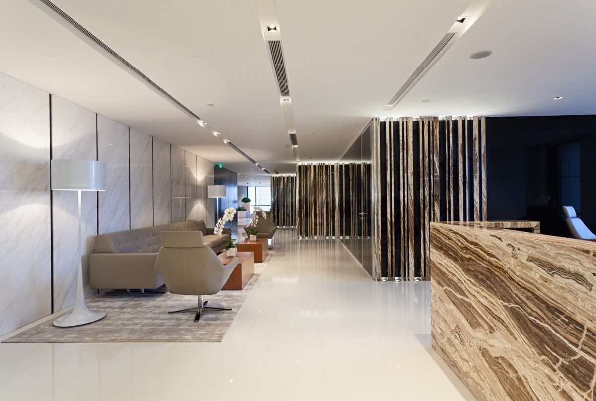 Robarts spaces warburg pincus for Commercial interior design companies