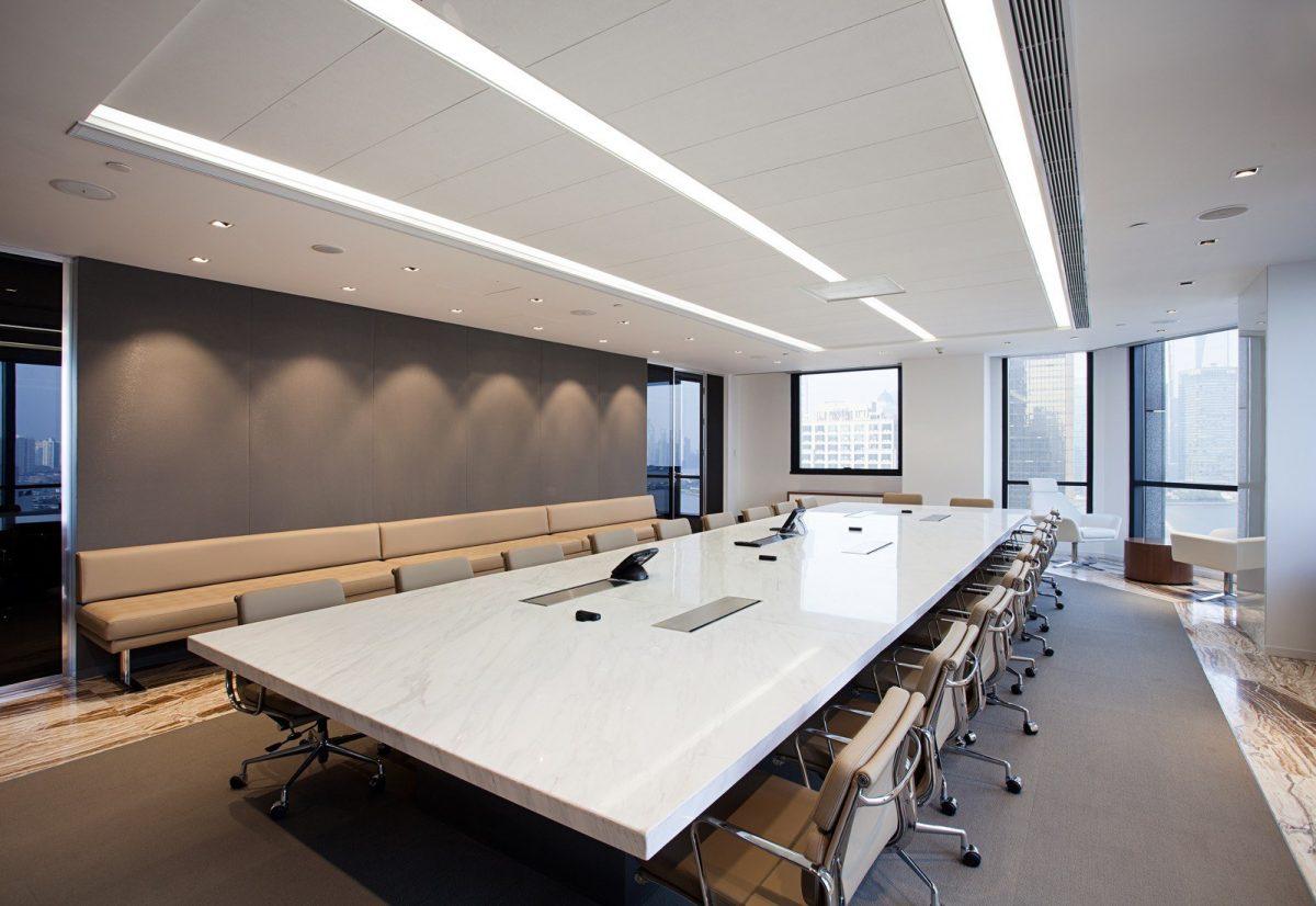 Robarts spaces warburg pincus for International interior design companies